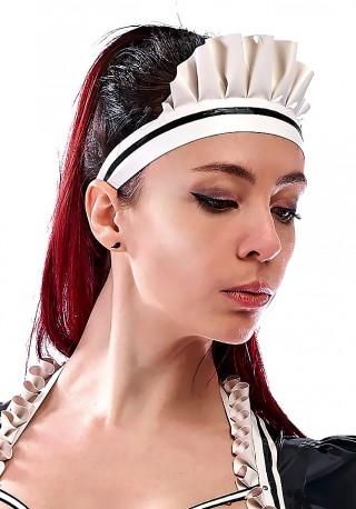 French Maid Latex Bonnet
