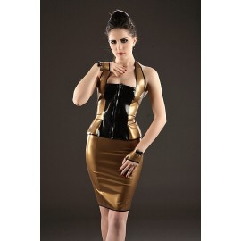 Mademoiselle Lily Latex Top
