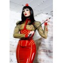 Military Latex Blouse