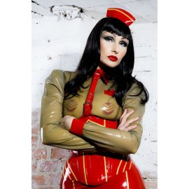 Military Latex Cap