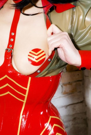 Military Latex Pasties