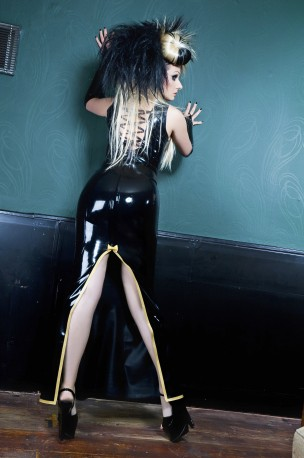 Perestroika Latex Skirt Basic