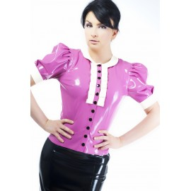 Femme Latex Bluse