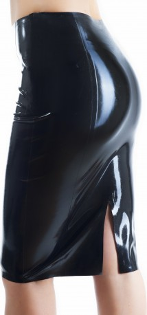 Latex Pencil Skirt Basic