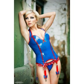Butterfly Latex Korsagen Top