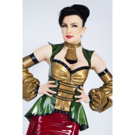 Piratess Latex Jacke