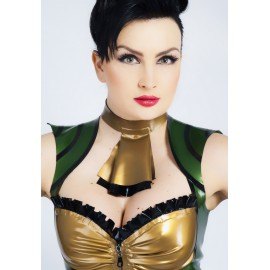 Piratess Latex Collar