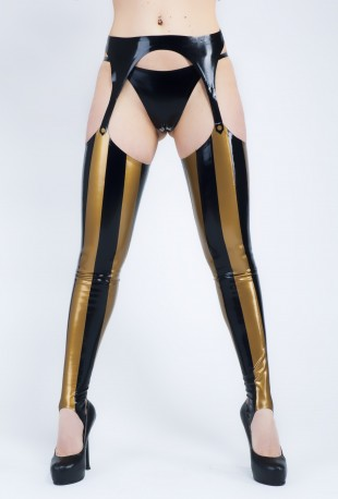 Piratess Latex Stockings