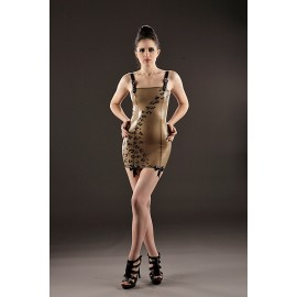 Bohème Leo Latex Dress