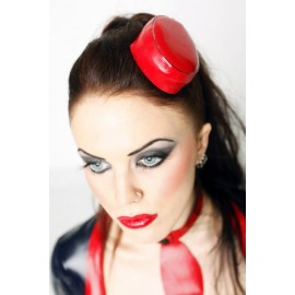 Stewardess Latex Kappe