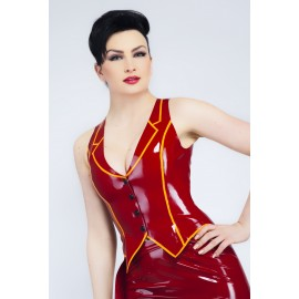 Valentine Latex Weste