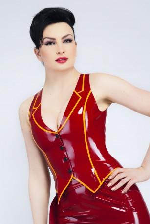 Valentine Latex Vest