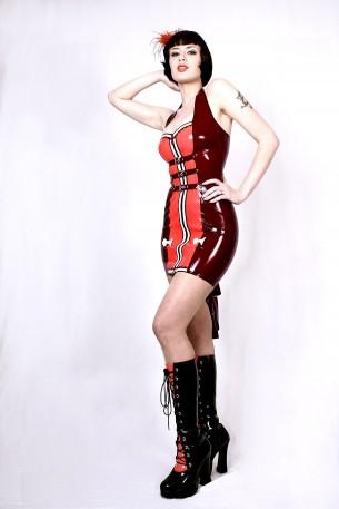 BQ Latex Kleid
