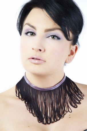 Miss Blossom Latex Halsband
