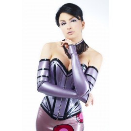 Miss Blossom Latex Armstulpen