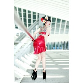 Pin-Up Dancer Latex Skirt Basic