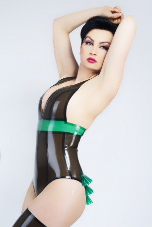 Lola Latex Leotard