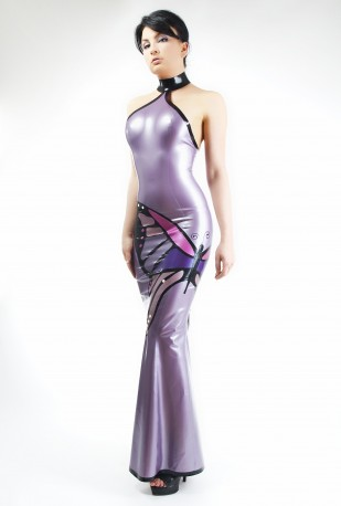 Butterfly Latex Gown