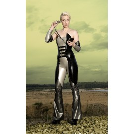 Ms. Peel Catsuit Latex Ganzanzug
