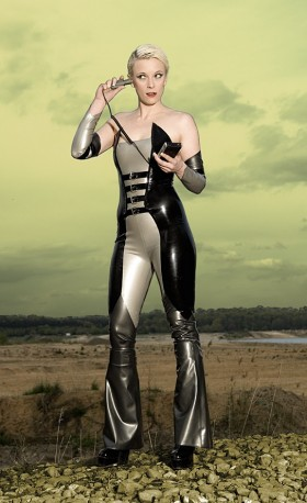 Ms. Peel Latex Catsuit