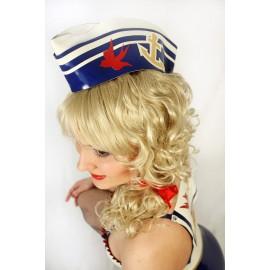 PinUp Sailor Latex Cap
