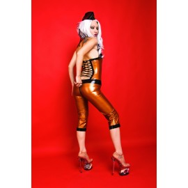 Savage Worker Cat Latex Catsuit Ganzanzug