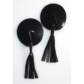 Round Latex Pasties with Latex Tassels