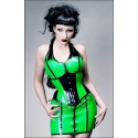 Space Warrior Latex Corset