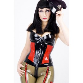 Jamie Latex Unterbrustkorsett
