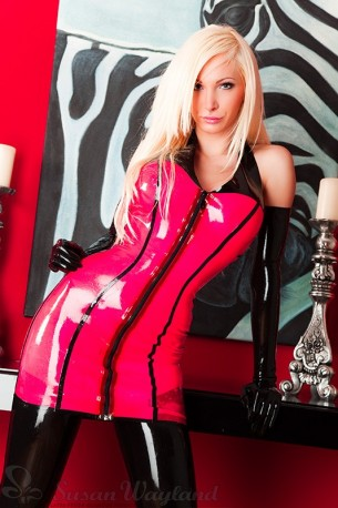 Daiquiri Latex Dress