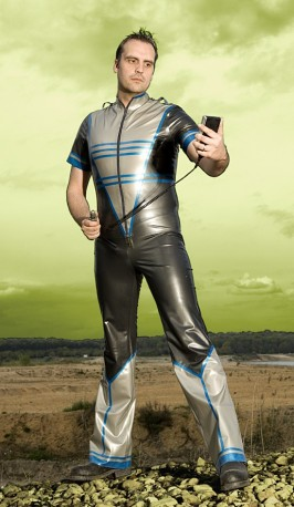 Dr. Zarkov Jr Latex Trousers
