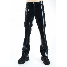 Mr. Officer Latex Trousers