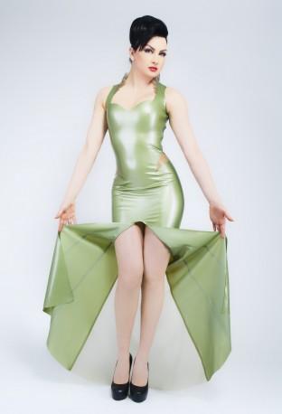 Divina Latex Kleid
