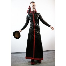 Dark Priest Latex Skirt for Men