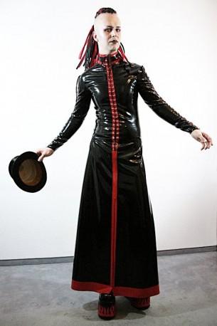 Dark Priest Latex Skirt for Men