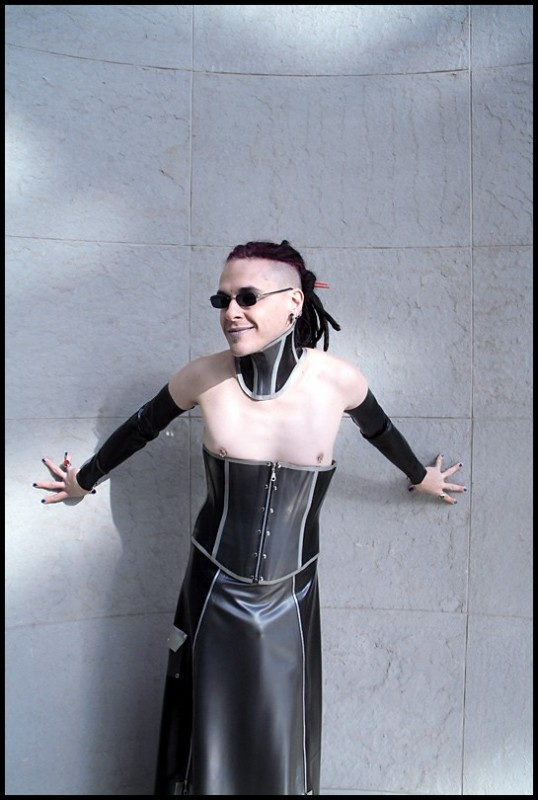 incarnadine hantu latex corset savage wear. Black Bedroom Furniture Sets. Home Design Ideas