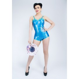 PinUp Sailor Latex Leotard