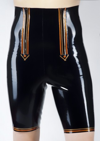 Baron Latex Knee-Trousers