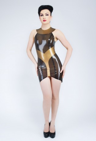 Egyptess Latex Dress
