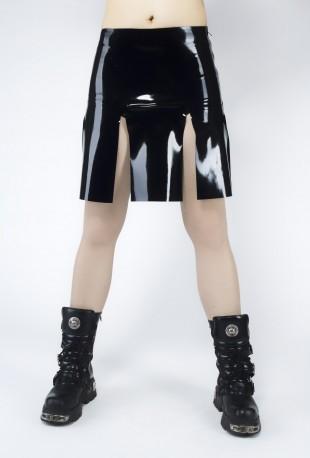Gladiator Latex Skirt