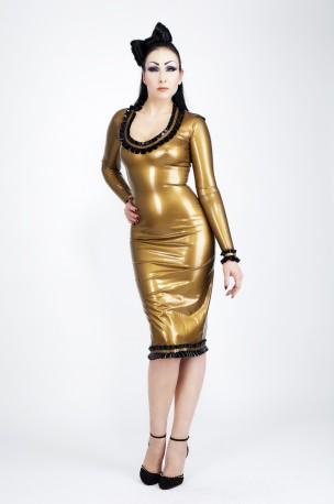 Mirabella Latex Kleid
