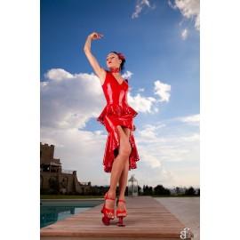 Elizabeth Latex Kleid