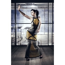 Promiscuous Space Girl Latex Gown