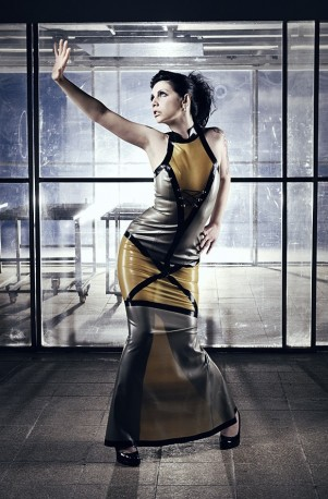 Promiscuous Space Girl Latex Kleid