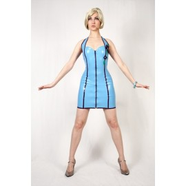Flower Power Latex Kleid