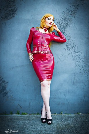 SavageAir Latex Skirt