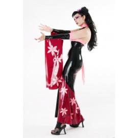 Geisha Latex Gauntlets