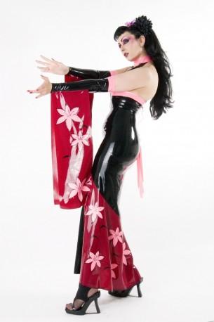 Geisha Latex Armstulpen