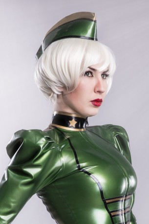 Lady Renate Latex Schiffchen