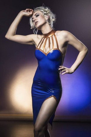Miss Kitsune Latex Kleid